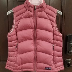 PATAGONIA Goose Down Ribbed PUFFER VEST Large GUC